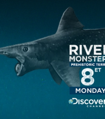 River Monsters: Infographic Design